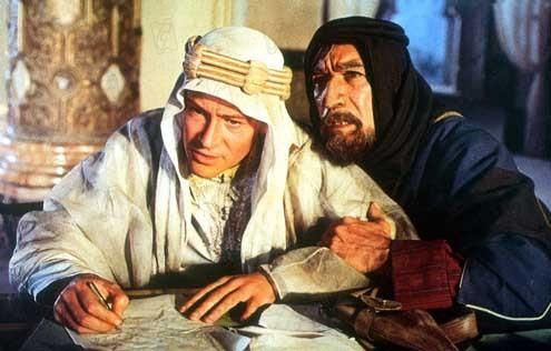 Lawrence de Arabia : Foto Anthony Quinn, David Lean, Peter O'Toole